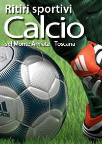 Ritiri sportivi calcio in Toscana