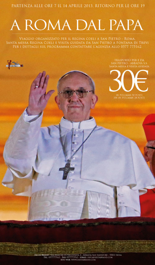 A Roma dal Papa - Tour organizzato