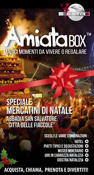 AmiataBox™ - Cofanetti Monte Amiata, offerte e pacchetti Monte Amiata Abbadia San Salvatore