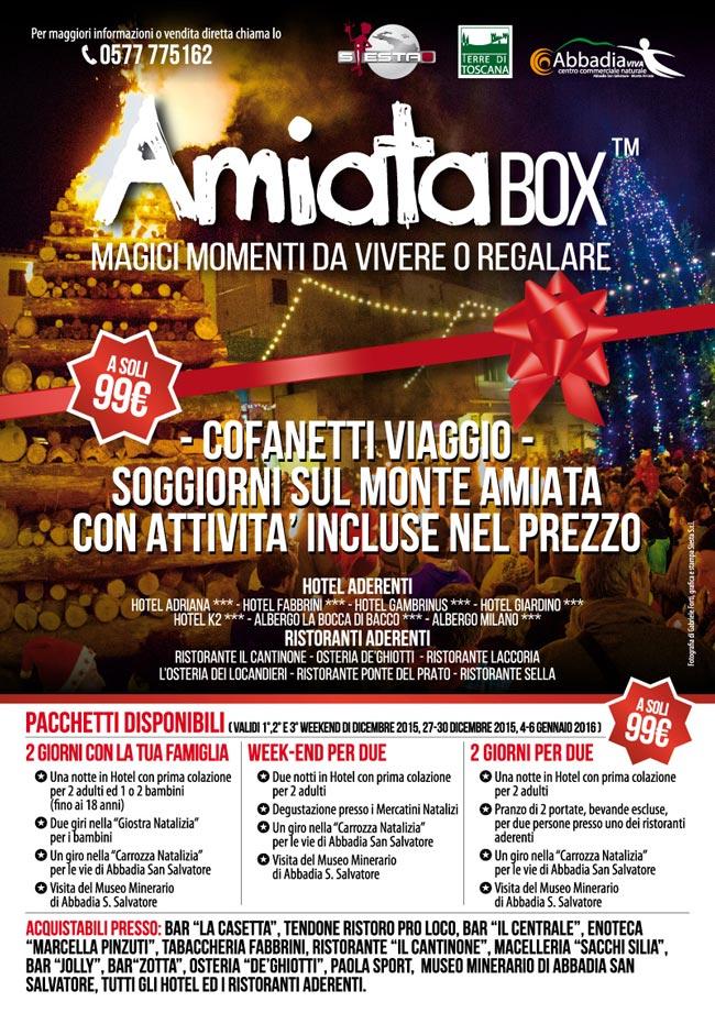 AmiataBOX™ - Cofanetti amiata, monte amiata, soggiorni amiata, offerte amiata, pacchetti amiata